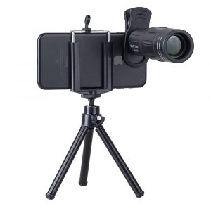 18x Telescope Telephoto Lens with Tripod For Mobile Phone - Use