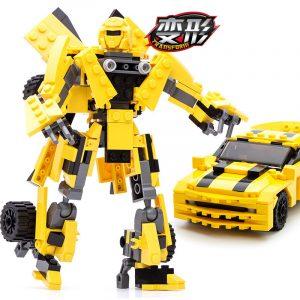 2 In 1 Transformer Robot Series - Yellow