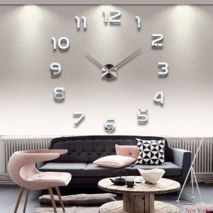 Modern Wall Clock - Regular Numbers - DIY