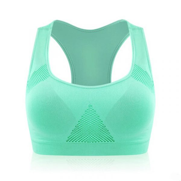 Women's Wirefree Padded Sports Bra - Green