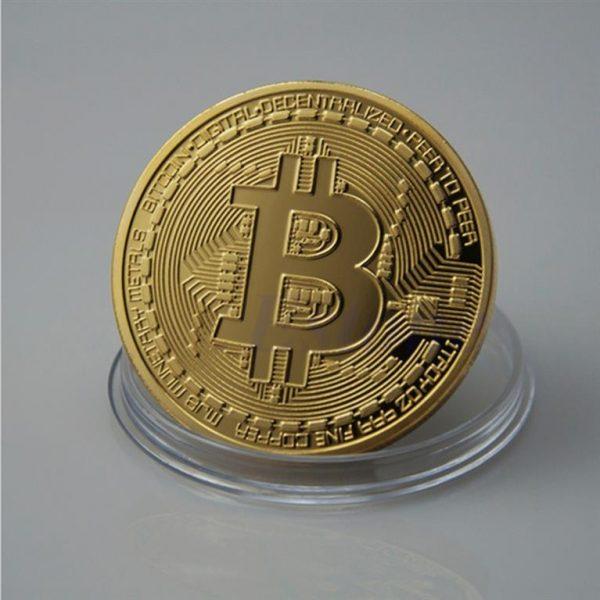 Collectible Bitcoin Coin - Front