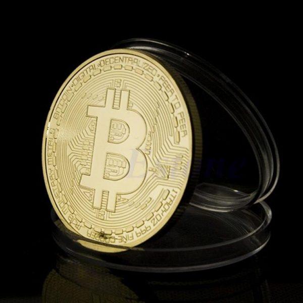 Collectible Bitcoin Coin - Gold