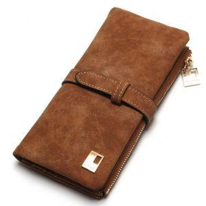 Women's Nubuck Leather Wallet