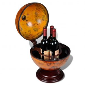 Tabletop Globe Mini Bar