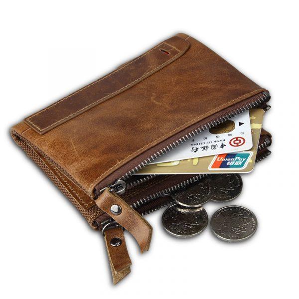 Large Genuine Leather Men's Wallet 2