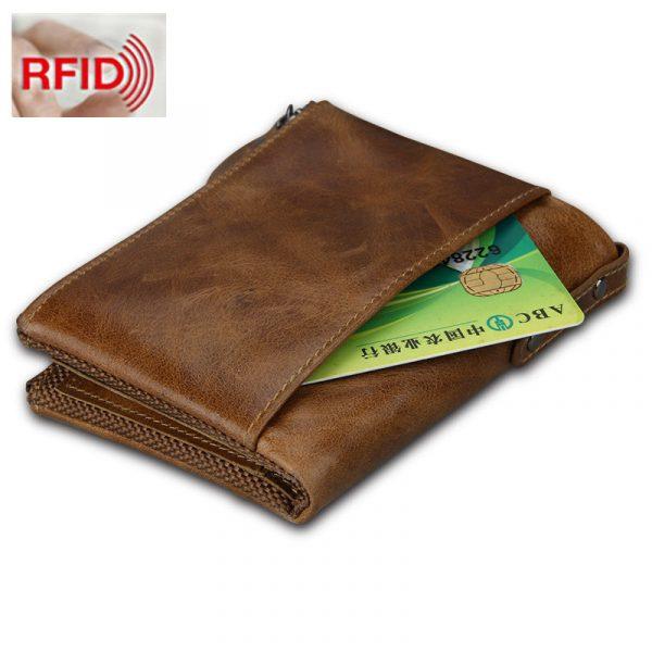 Large Genuine Leather Men's Wallet 1