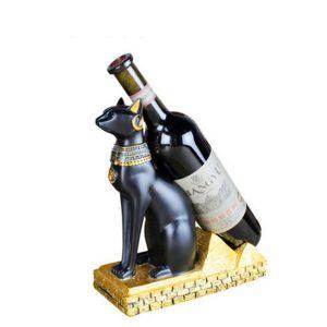 Egyptian Cat Wine Bottle Holder