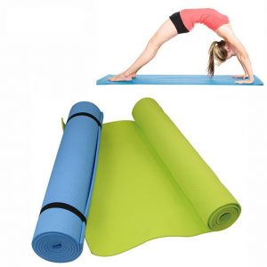 Foam Yoga Mat for Exercise Yoga and Pilates