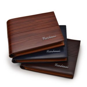 Men's Leather Luxury Slim Wallet