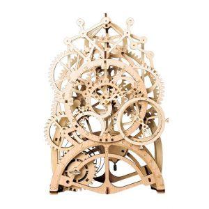 Pendulum Clock Wooden Model Kit - Front