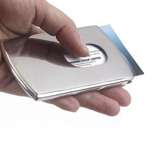 Stainless Steel Business Card Holder
