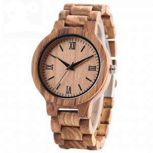 Bamboo Handmade Wooden Watch
