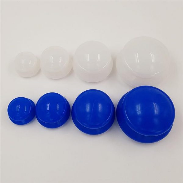 Cupping Therapy Kit - 4 Pieces - Colours Full