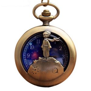 Little Prince Pocket Watch With Chain For Children