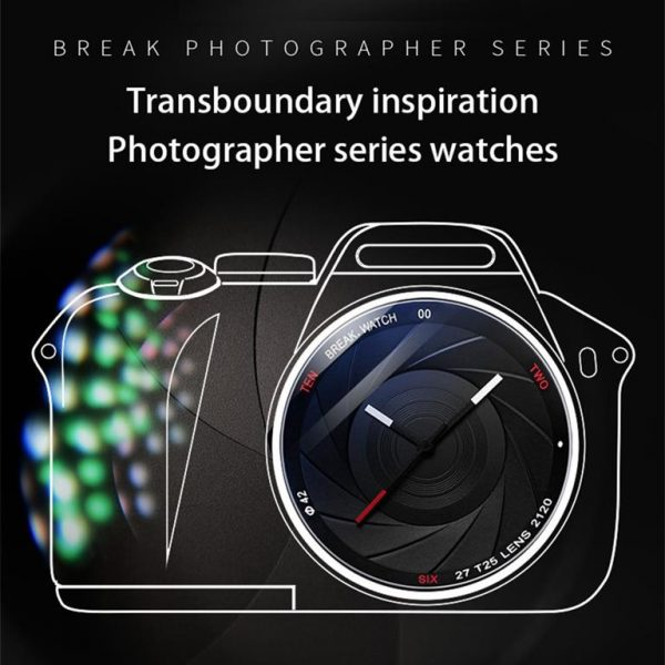 Men's Photographer Series Camera Style Watch - Ad 1