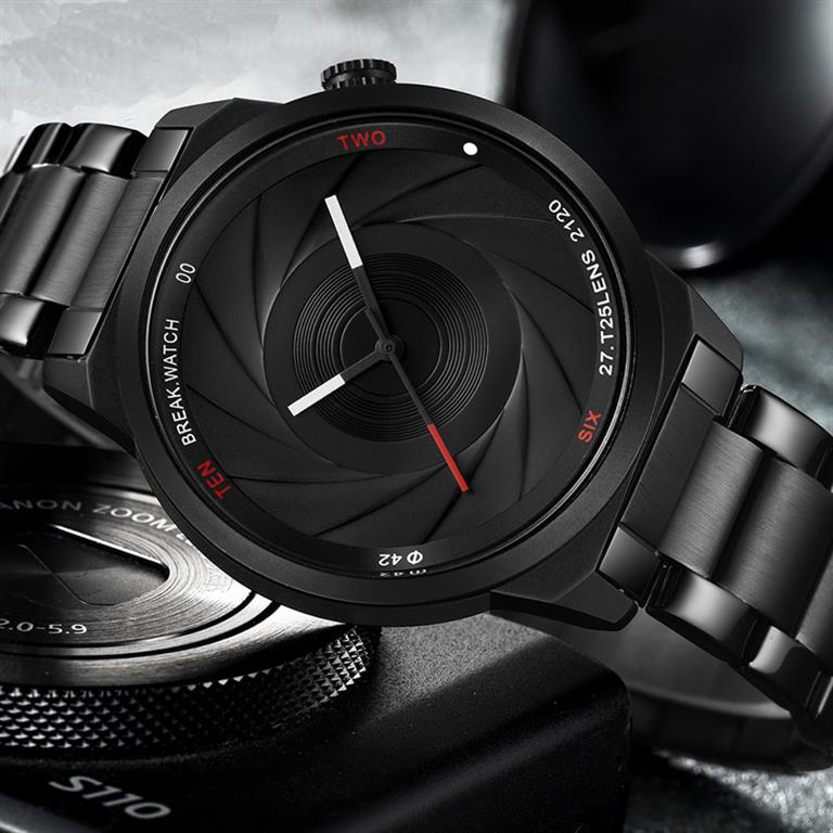 Camera Themed Watch For Men