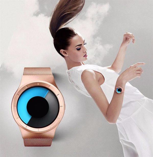 Unisex Digital Minimalist Watch - Women