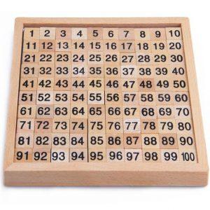 Montessori Education Wooden Math Board