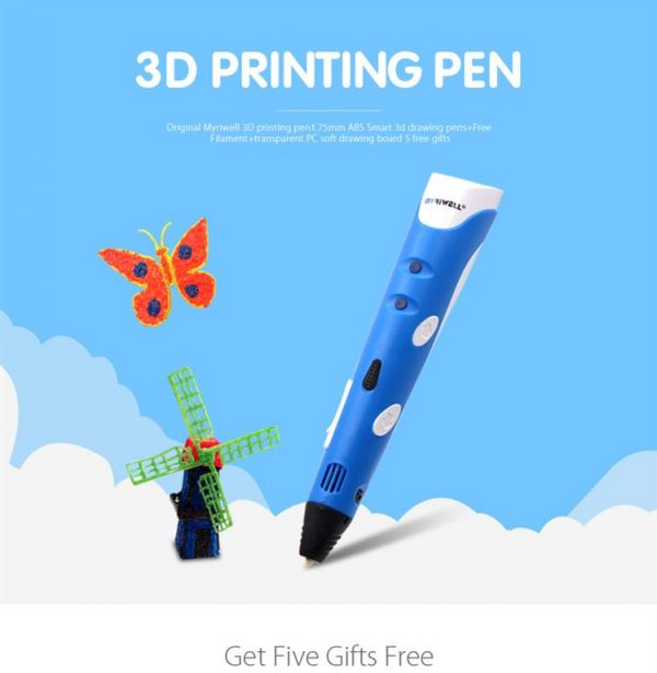 3D Printing Pen - 1.75mm - 1