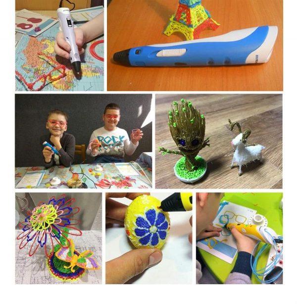 3D Printing Pen - 1.75mm - Examples