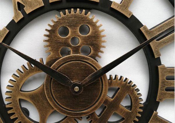 Antique 3D Wall Clock - Hand