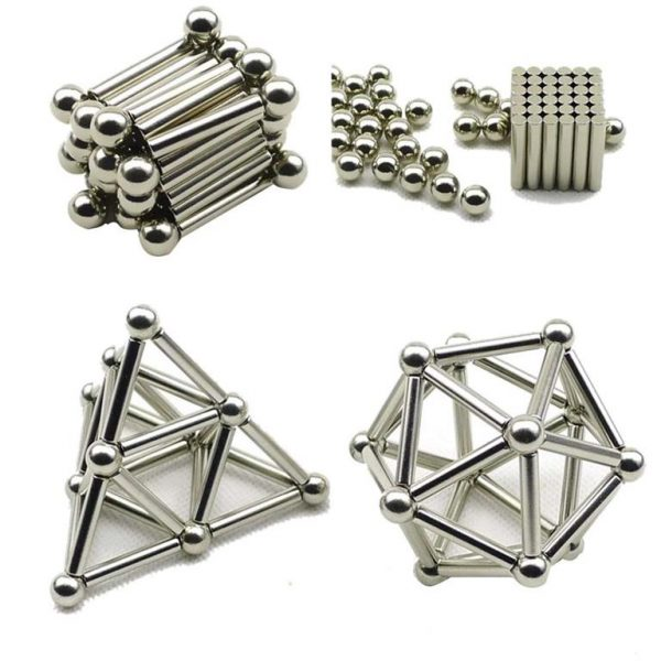 Innovative Magnetic Constructor Toy for Building Models - Sample3