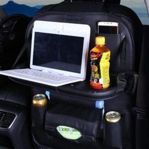 Multi-function Car Seat Organizer - Black