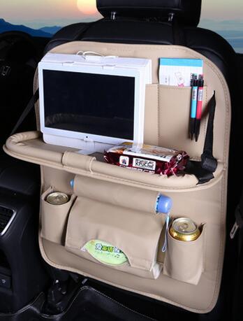 Multi-function Car Seat Organizer - White 2