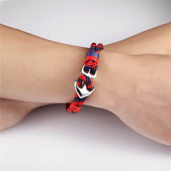 Nautical Anchor Bracelet For Men - model 1