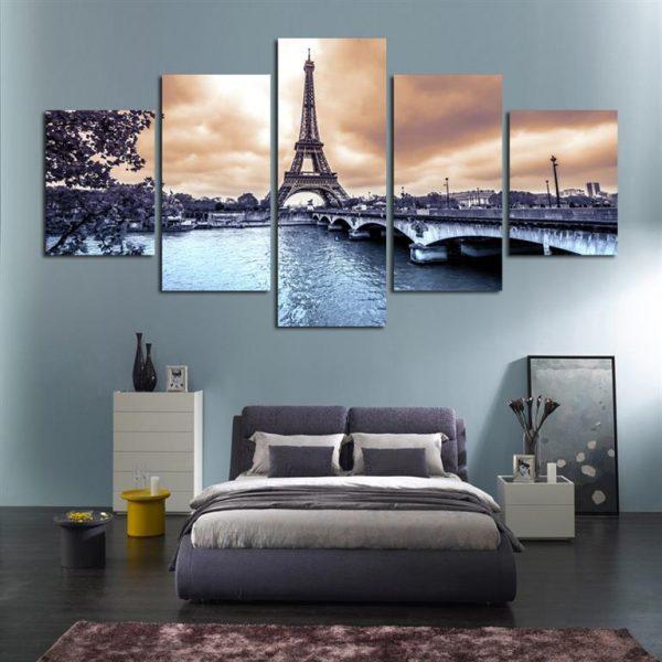 Paris Eiffel Tower Canvas Print - Model 1