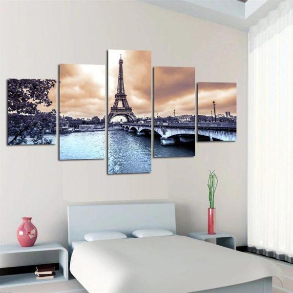 Paris Eiffel Tower Canvas Print - Model 3