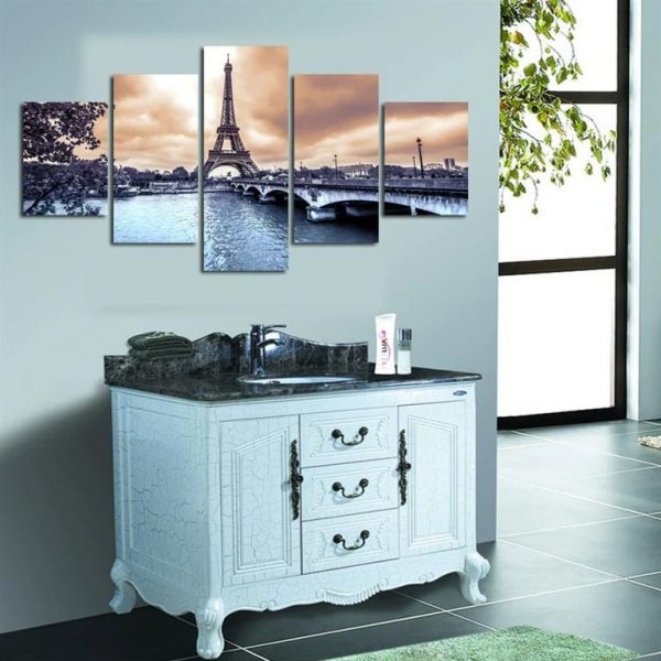 Paris Eiffel Tower Canvas Print - Model 4