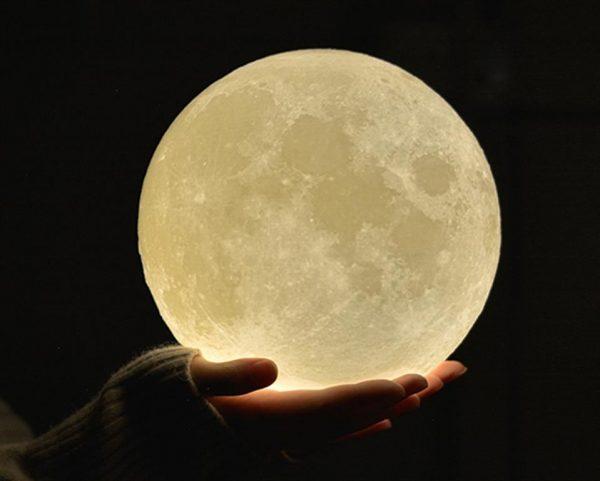 3D Night Light Moon Lamp - 1