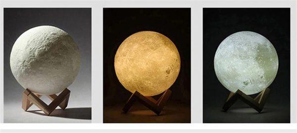 3D Night Light Moon Lamp - 10