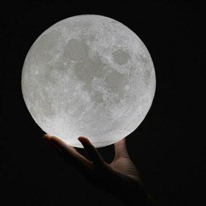 3D Night Light Moon Lamp - 2
