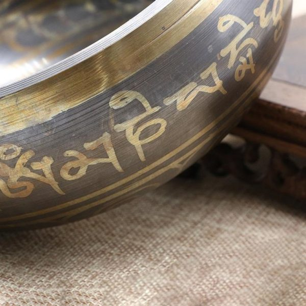 Decorative Tibetan Singing Bowl - sample3