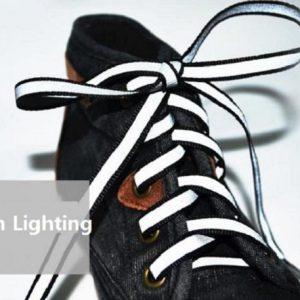 Luminous Glowing Shoelaces - white