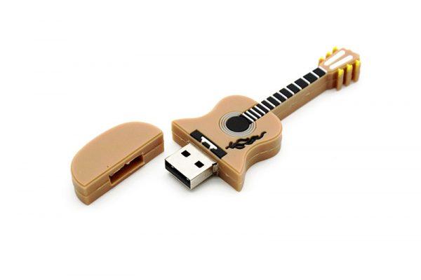Musical Instrument USB Drive - Guitar 2 Open