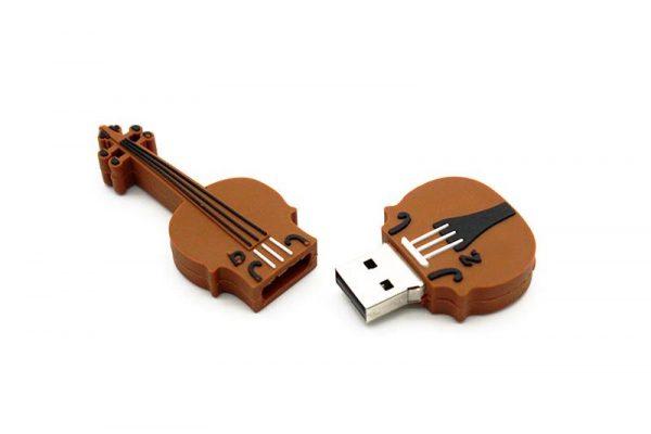 Musical Instrument USB Drive - Open Violin