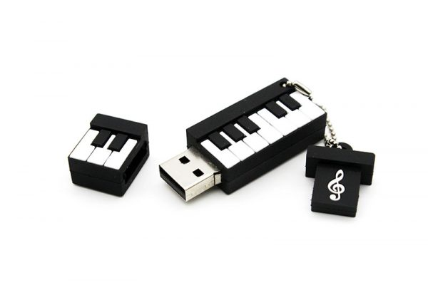 Musical Instrument USB Drive - Piano OPen