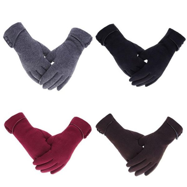 Women's Winter Gloves With Touch Screen Capability