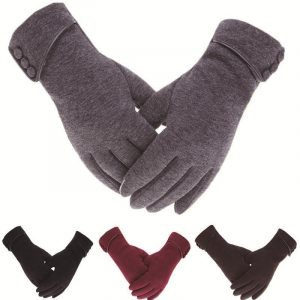 Women's Winter Gloves With Touch Screen Capability - main