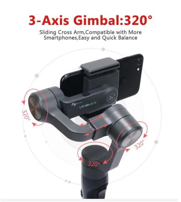3-Axis Handheld Gimbal Stabilizer For Smartphone - 320