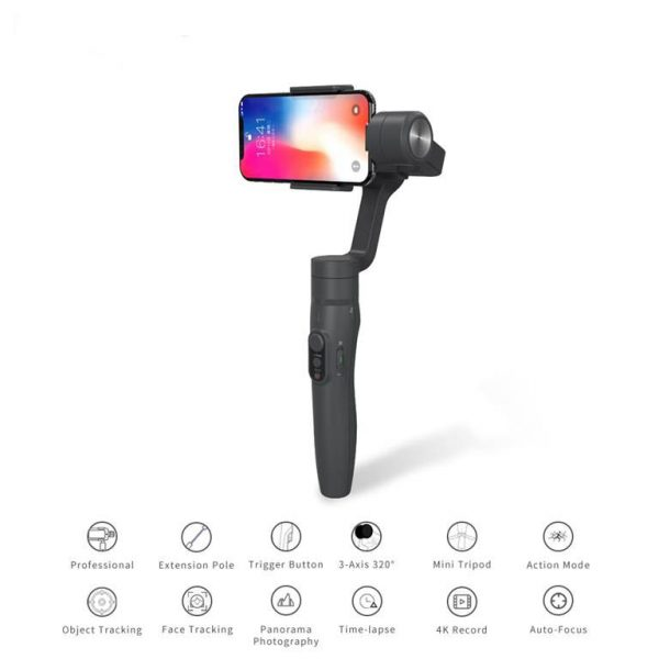3-Axis Handheld Gimbal Stabilizer For Smartphone - Features