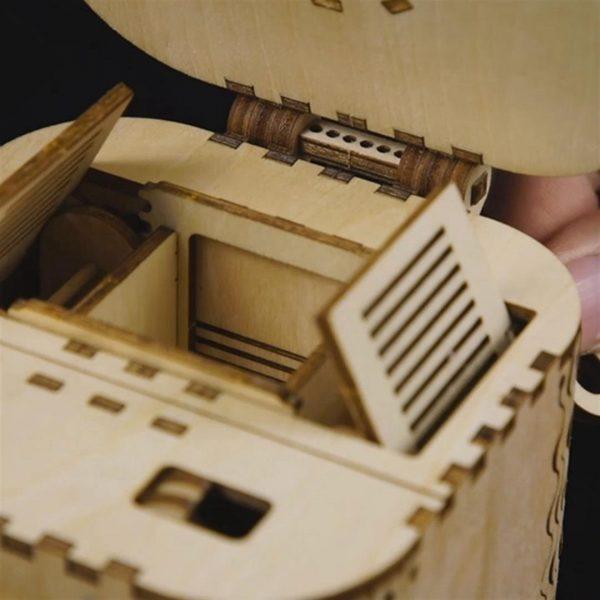 DIY 3D Treasure Box - 4