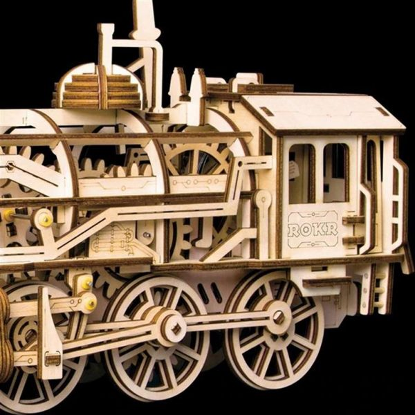 DIY 3D Wooden Train - 3