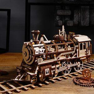 DIY 3D Wooden Train