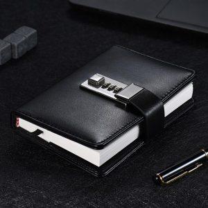 Notebook with Password Lock - Desk