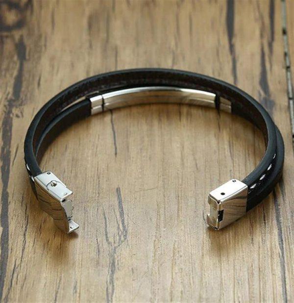 Customizable Leather Bracelets for Men - 6