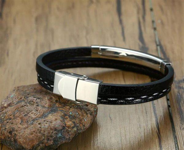 Customizable Leather Bracelets for Men - 7